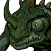 Lizardman Archer Face