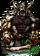 Gorilla Gladiator II + Figure