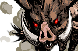 File:Wild Boar Face.png