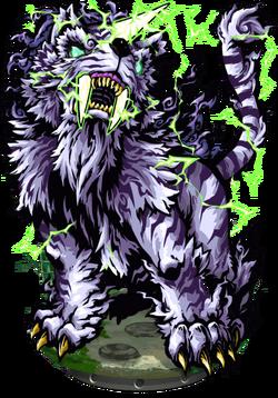 Bai-Hu, the Thunderbolt Figure