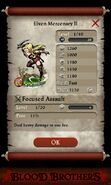 Elven Mercenary II (base stats)