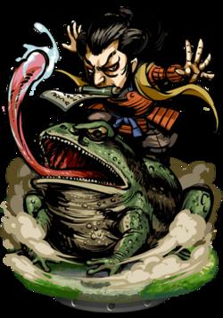 Ziraiya, Master Ninja Figure