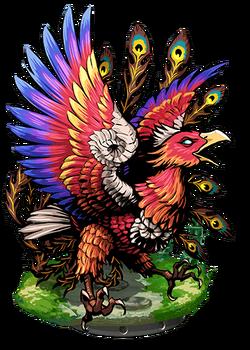 Fenghuang, Bird Divine Figure