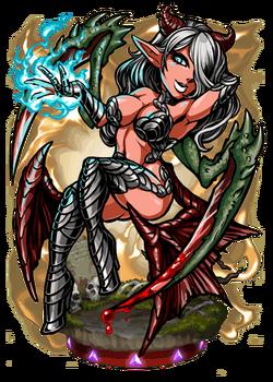 Empusa, the Mantis Scythe Figure
