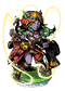 Cat Sith Whipmaster II Figure
