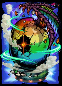 Rainbow Egg Figure