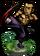 Kung Fu Monk II + Figure