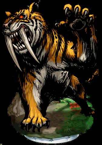 File:Saber-Toothed Tiger Figure.png