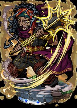 Garshasp, the Juggernaut Figure