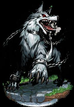 Schlact, The War Wolf Figure