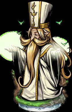 Elven Priest Figure