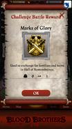 Mark of Glory Reward