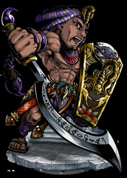 Selk, Cobra Warrior Figure