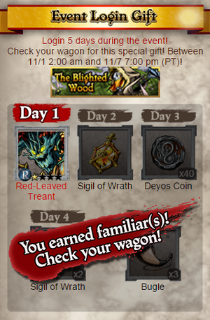 The Blighted Wood Login