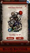 Macaca, Dog Rider Point Reward