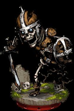 Skeleton Warrior + Figure