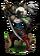 Cat Sith Swordswoman Figure