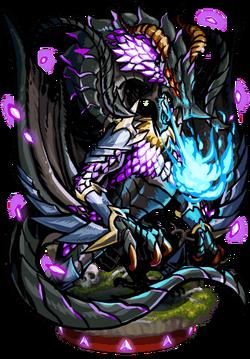 Ebon Dragon II Figure