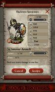 Skeleton Spearman (base stats)