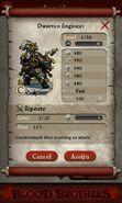 Dwarven Engineer (captured)