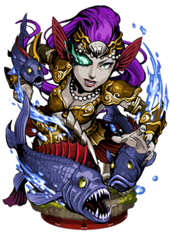 Vepar, the Roiling Sea II Figure