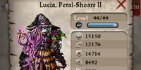 Lucia, Petal-Shears II