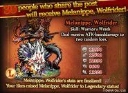 Melanippe Wolfrider
