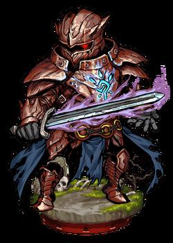 Sigiled Ghost Armor Figure