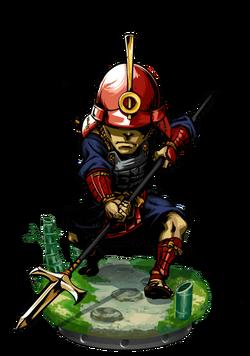 Ashigaru Commander II Figure