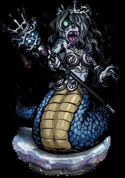 Queen Lamia Figure