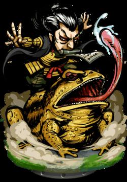 Ziraiya, Master Ninja II Figure
