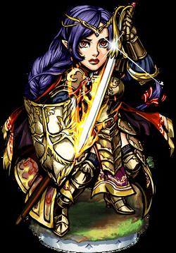 Deborah, Knight Immaculate II Figure