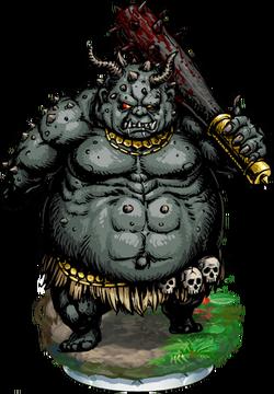 Ogre Giant Figure