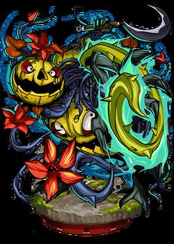Pumpkin Hangman Figure