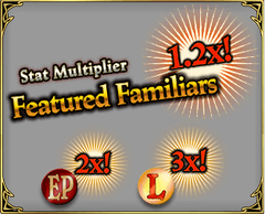 Trials of the Risen Featured familiars multiplier box