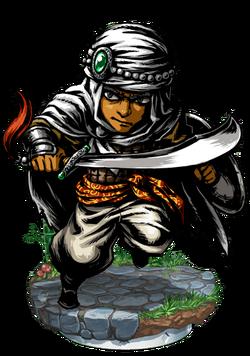 Alph, Desert Bounty Hunter Figure