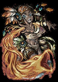 Hina, Flame Conjurer Figure