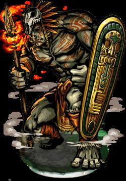 Tlahuizcal, Vesper Giant Figure