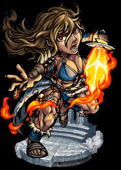 Belisama, the Flaming Dagger Figure