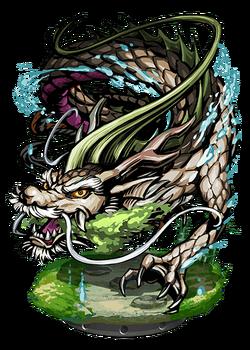 Mizuchi, Water Dragon Figure