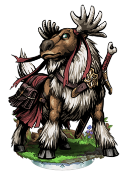 Dasher, Battle Reindeer Figure