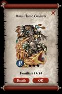Hina, Flame Conjurer Realm Reward