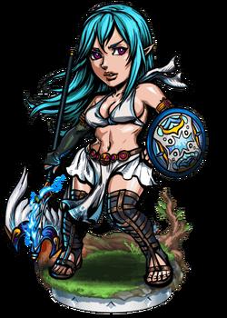 Boudica, War Seer II Figure