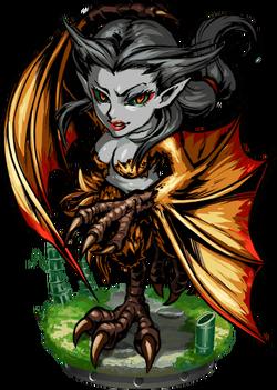 Gu Huo, the Harpy Figure