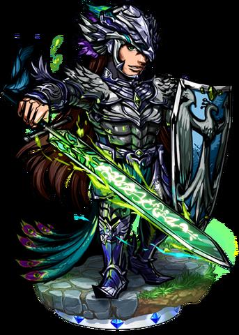 File:Melek, the Black Peacock Figure.png