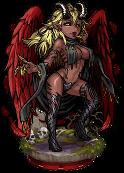 Azazel, Fallen Angel Figure