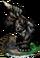 Gorilla Huntsman Figure