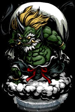 The God of Winds Figure