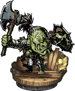 Orcish Warrior + Figure