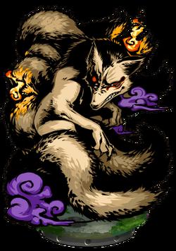Nine-tailed Fox Figure
